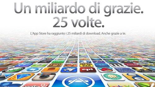 App Store, 25 miliardi