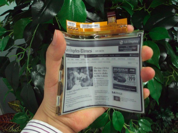 LG E-Paper Display