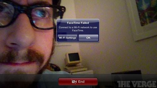 FaceTime su 4G