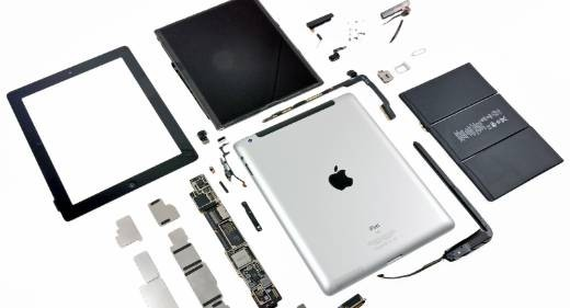 iFixit smonta nuovo iPad
