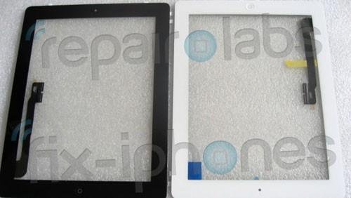 iPad 3, vetro e pulsante home