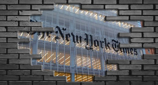 New York Times, Paywall