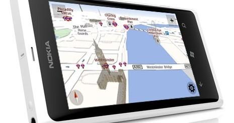 Nokia Mappe su Nokia Lumia 800