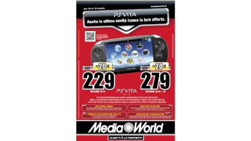 playstation vita in offerta su mediaworld