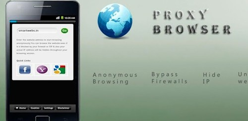 Proxy + Privacy Browser