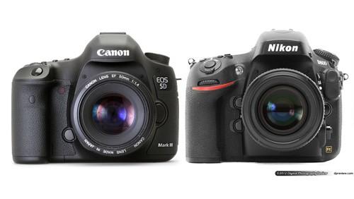 Canon EOS 5D Mark III - Nikon D800