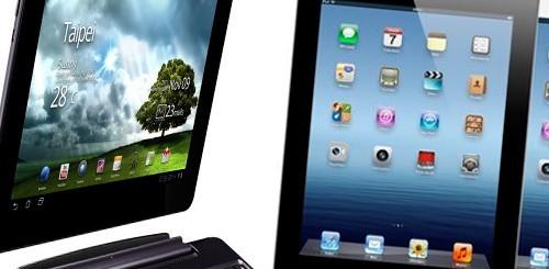 Nuovo iPad vs. Transformer Prime