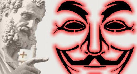 Anonymous vs Vaticano