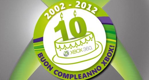 10 anni di Xbox