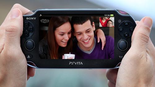 Skype per PS Vita