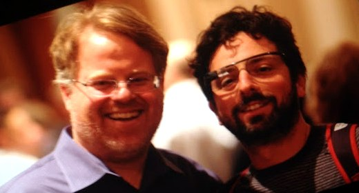 Robert Scoble e Sergey Brin