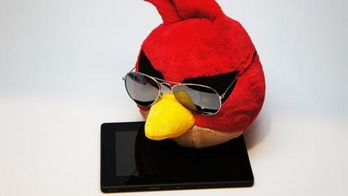 Angry Birds Space su BlackBerry PlayBook