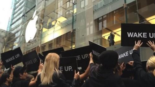 Apple Store Wake Up