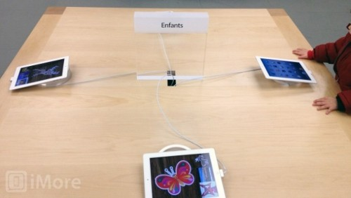 Apple Store e iPad per bambini