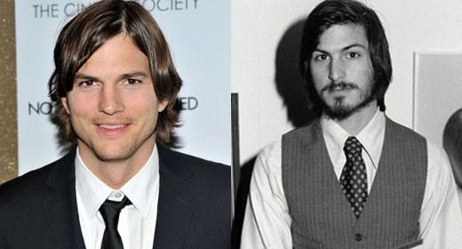Ashton Kutcher e Steve Jobs