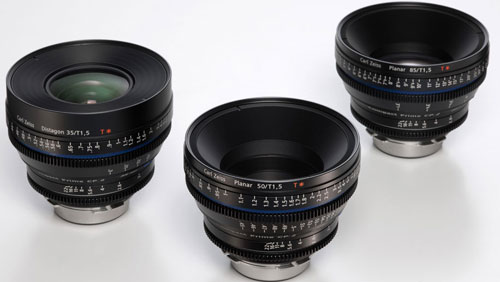 Carl-Zeiss 35-50-85mm T1.5 CP.2 Compact Prime Super Speed