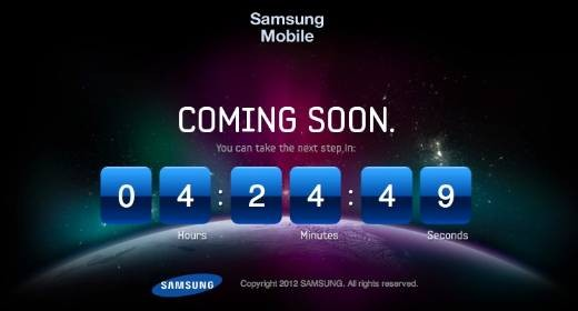 Galaxy S III Count Down