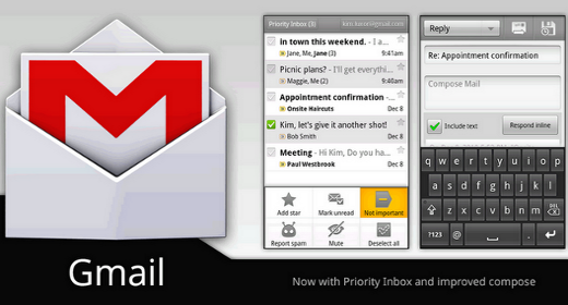 Gmail per Android