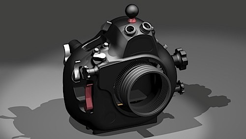 Hugyfot scafandro per Nikon D800
