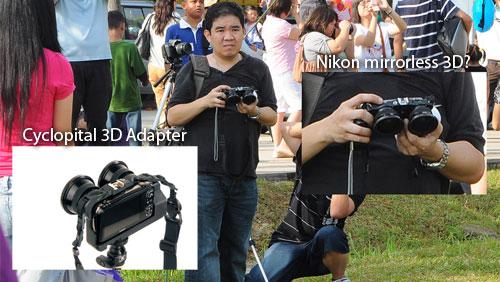 Nikon mirrorless 3D