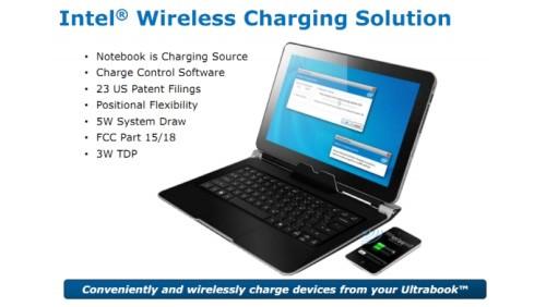 Ricarica wireless ultrabook