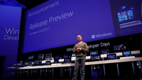 Windows 8 Release Preview su Twitter