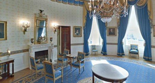 Dentro la casa bianca con google street view webnews - Fare il cappotto interno alla casa ...