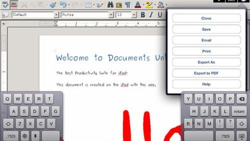 Documents Unlimited per iPad