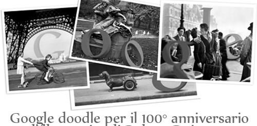 Robert Doisneau, Google doodle