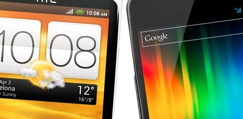 HTC One X vs. Samsung Galaxy Nexus