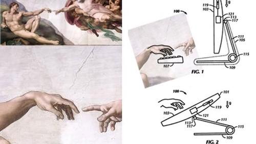 iMac, mano di Michelangelo