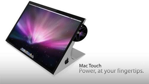 Concept di iMac Touchscreen