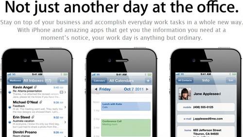 iPhone per le aziende