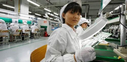 Foxconn, operaia cinese