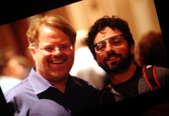 Robert Scoble e Sergey Brin