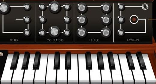 Il doodle per Robert Moog