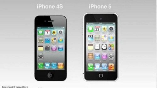 Concept iPhone 5 e iPhone 4S