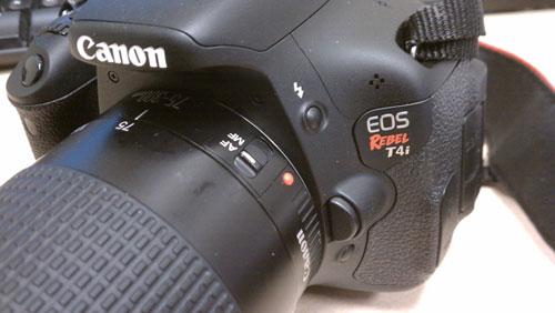 Canon EOS 650D Rebel T4i