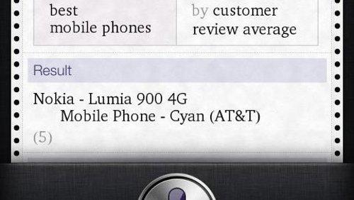 Nokia Lumia 900 Siri