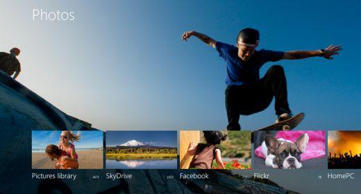 Photos app Windows 8