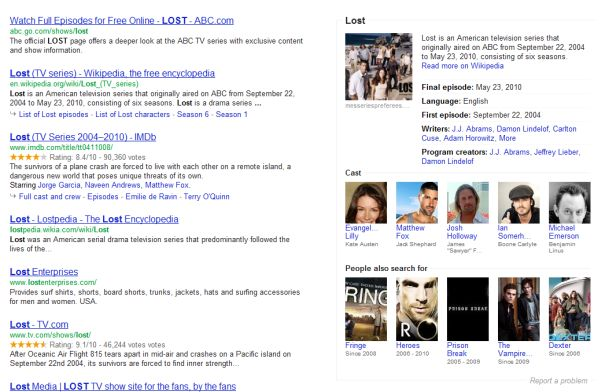 Ricerca semantica su Google