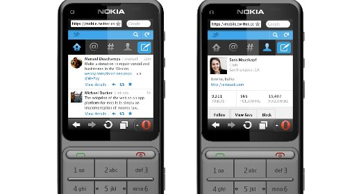 Twitter cellulare