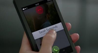BlackBerry 10, chiamata in arrivo