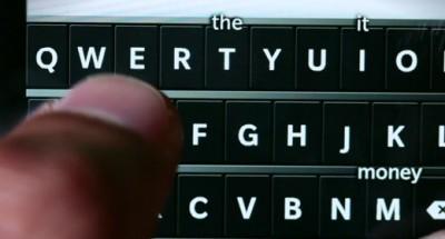 Scrittura su BlackBerry 10