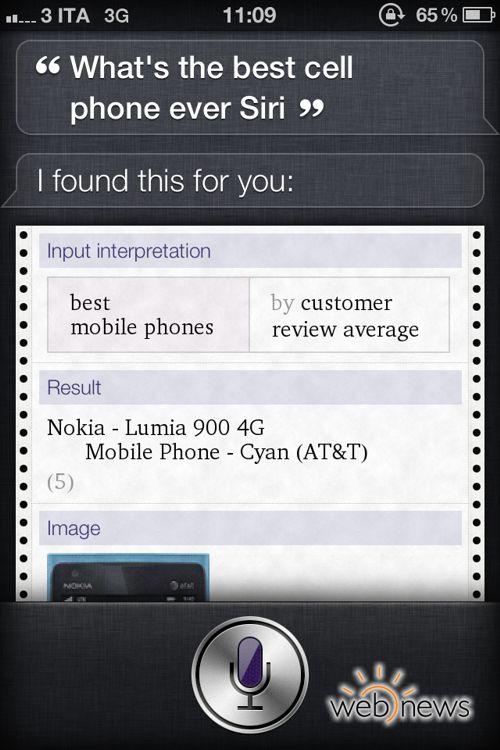 Qual è il miglior telefono, Siri?