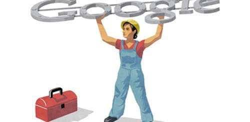 Festa dei lavoratori, Google doodle