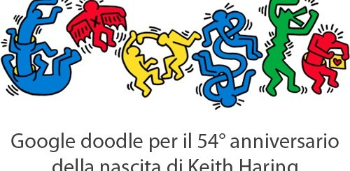 Keith Haring, Google doodle