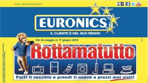 Euronics, online il nuovo volantino delle offerte