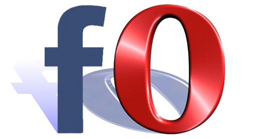 Facebook e Opera