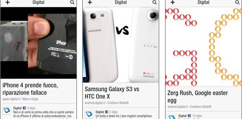 Flipboard per Android